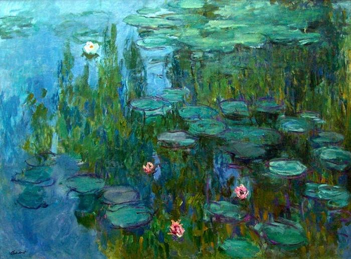 Nympheas by Claude Monet  via wikipedia.org